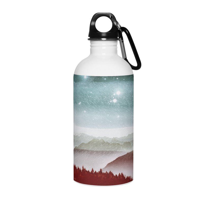 Snow Storm Accessories Water Bottle by fruityshapes's Shop