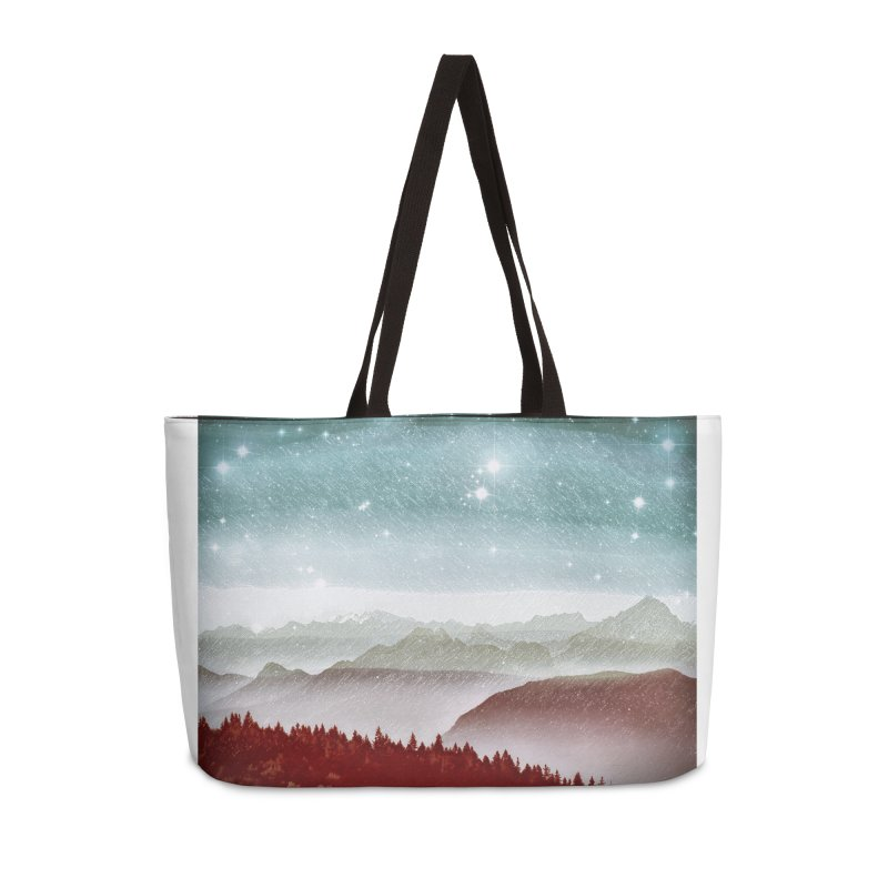 Snow Storm Accessories Weekender Bag Bag by fruityshapes's Shop