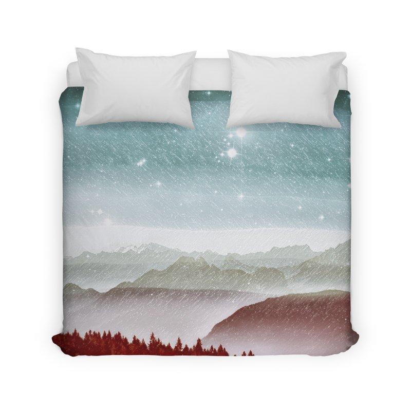 Snow Storm Home Duvet by fruityshapes's Shop