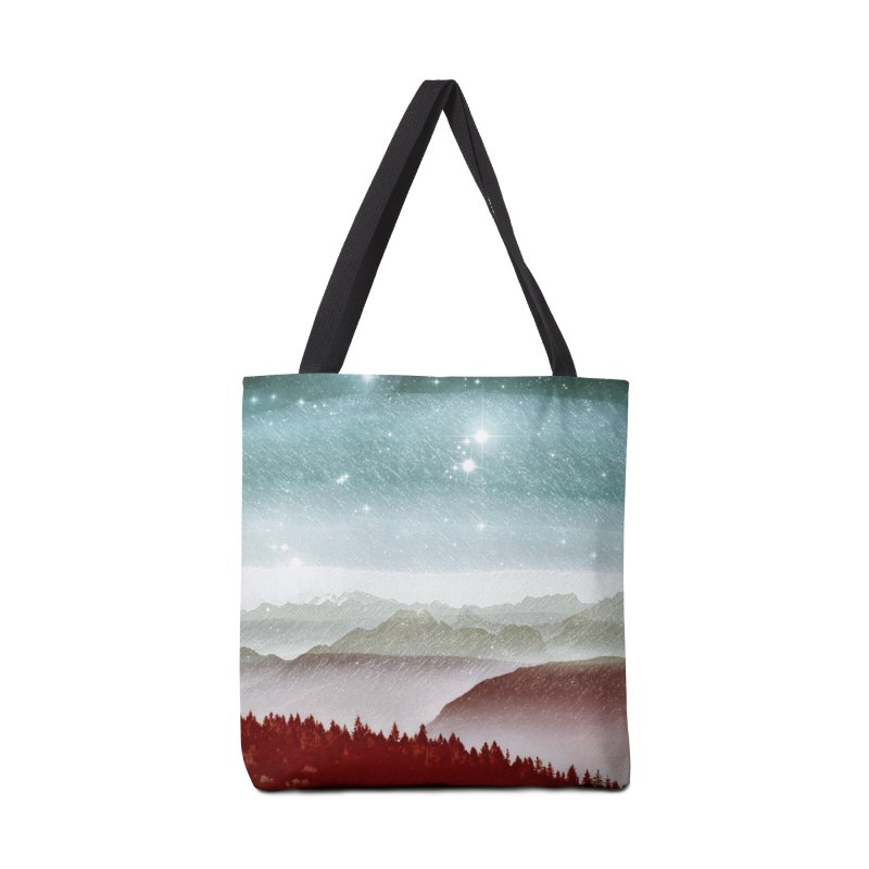 Snow Storm Accessories Tote Bag Bag by fruityshapes's Shop