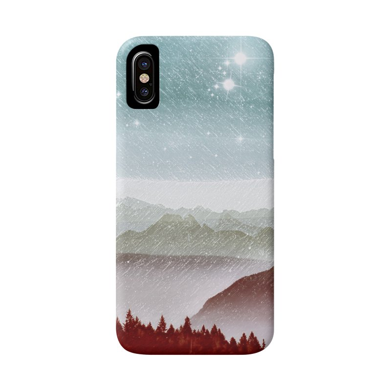 Snow Storm Accessories Phone Case by fruityshapes's Shop