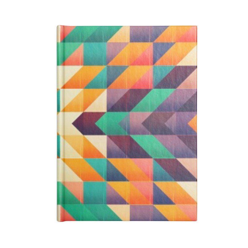 Indian summer Accessories Lined Journal Notebook by fruityshapes's Shop