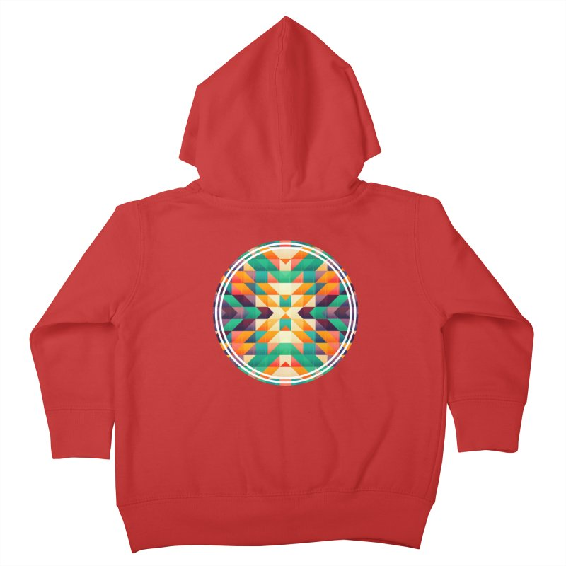 Indian summer Kids Toddler Zip-Up Hoody by fruityshapes's Shop