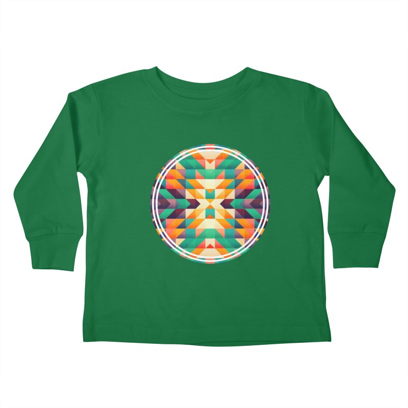 Indian summer Kids Toddler Longsleeve T-Shirt by fruityshapes's Shop