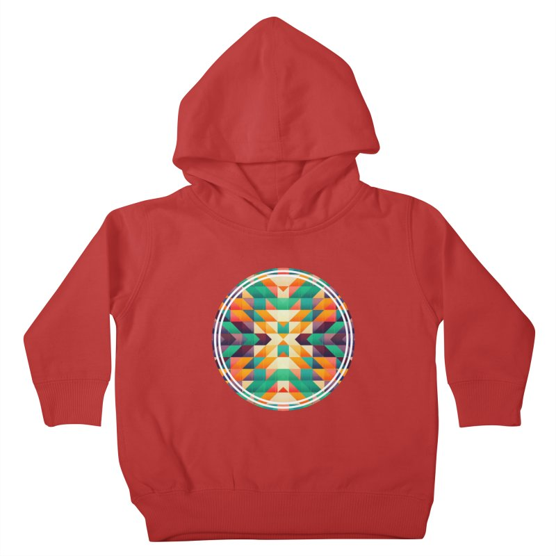 Indian summer Kids Toddler Pullover Hoody by fruityshapes's Shop
