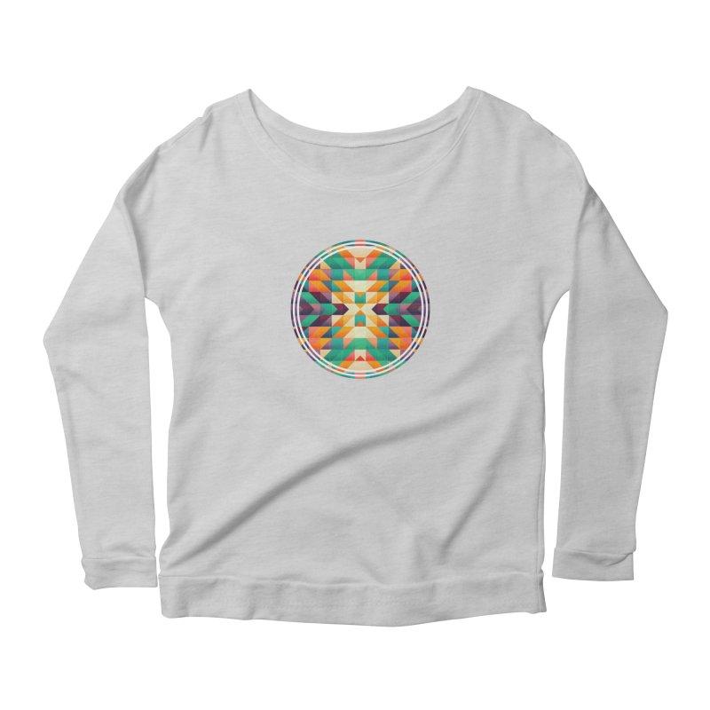 Indian summer Women's Scoop Neck Longsleeve T-Shirt by fruityshapes's Shop