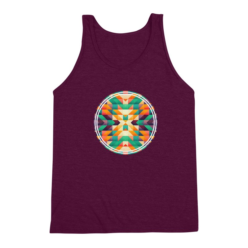 Indian summer Men's Triblend Tank by fruityshapes's Shop
