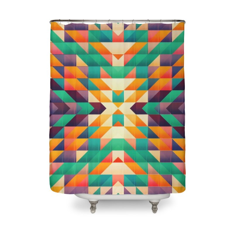 Indian summer Home Shower Curtain by fruityshapes's Shop