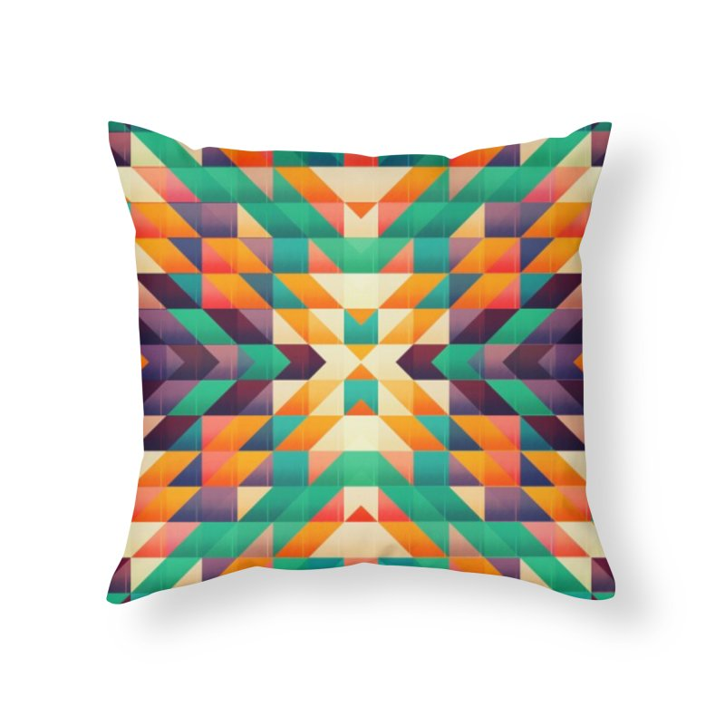 Indian summer Home Throw Pillow by fruityshapes's Shop