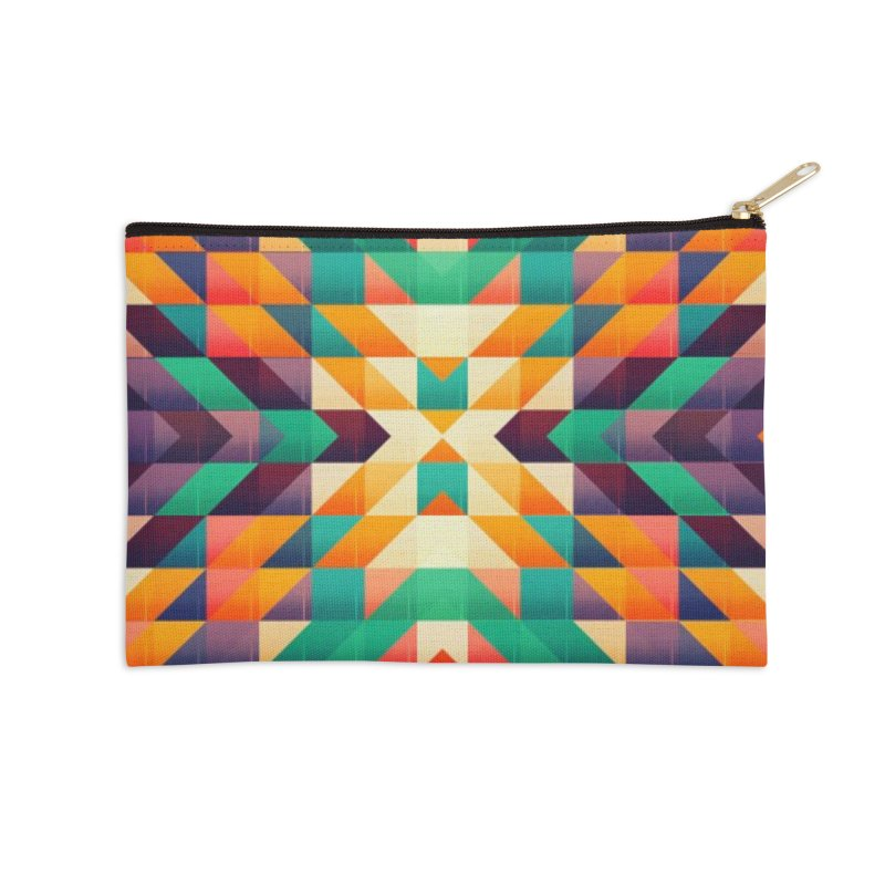 Indian summer Accessories Zip Pouch by fruityshapes's Shop