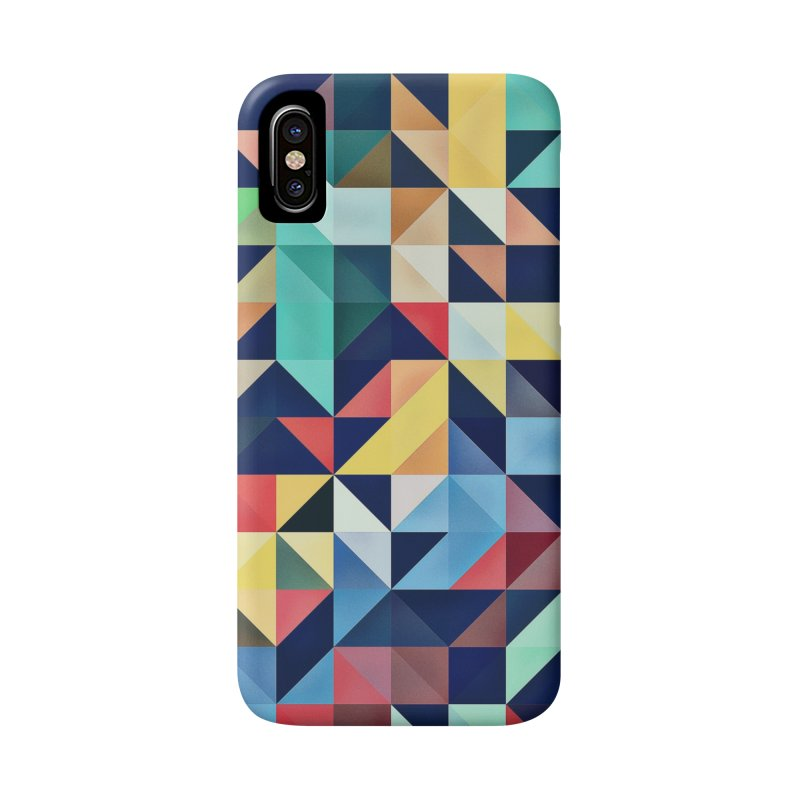MODERN COLORFUL RETRO GEOMETRIC Accessories Phone Case by fruityshapes's Shop