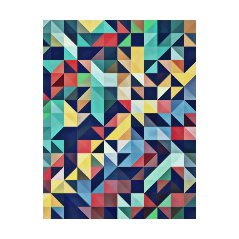 MODERN COLORFUL RETRO GEOMETRIC by fruityshapes's Shop