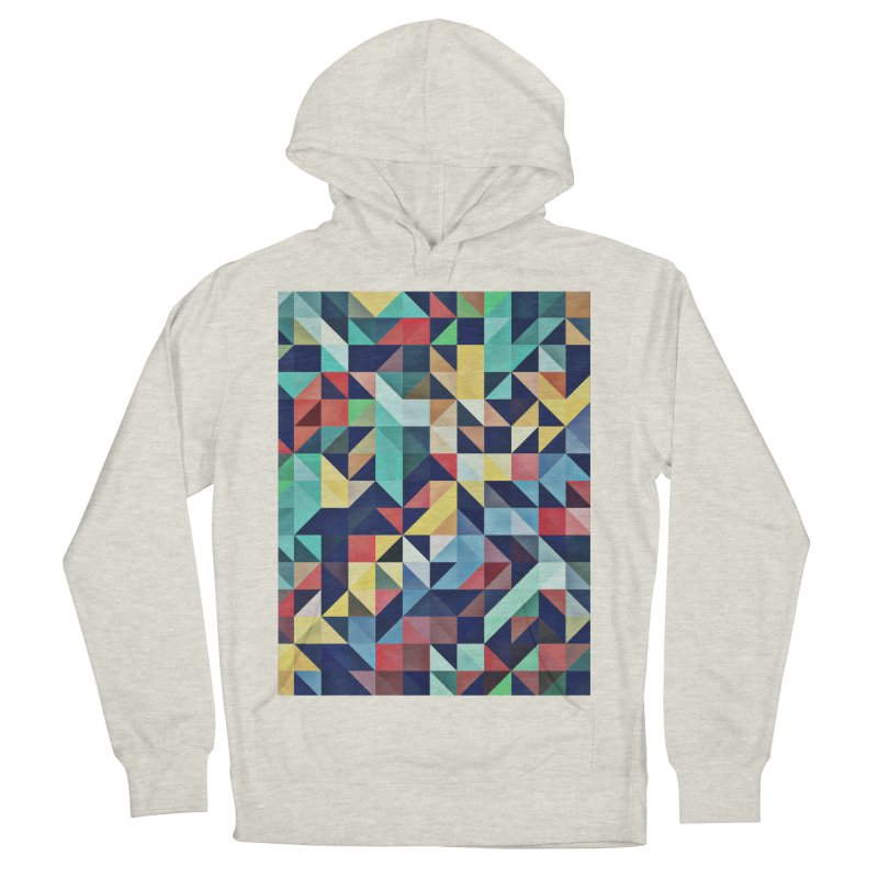 MODERN COLORFUL RETRO GEOMETRIC Women's Pullover Hoody by fruityshapes's Shop