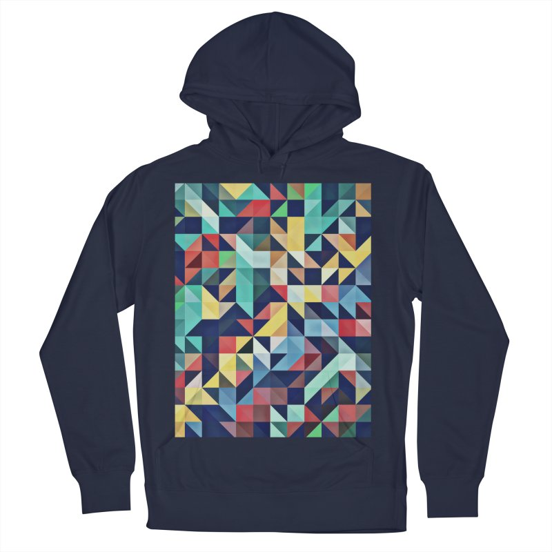 MODERN COLORFUL RETRO GEOMETRIC Men's Pullover Hoody by fruityshapes's Shop