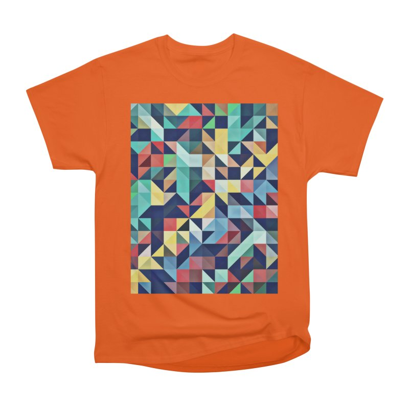 MODERN COLORFUL RETRO GEOMETRIC Women's T-Shirt by fruityshapes's Shop