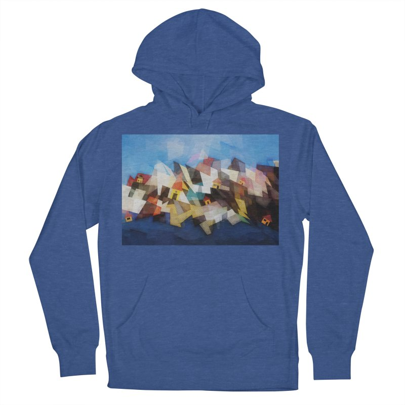 Little city Women's French Terry Pullover Hoody by fruityshapes's Shop