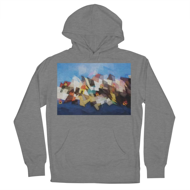 Little city Men's French Terry Pullover Hoody by fruityshapes's Shop