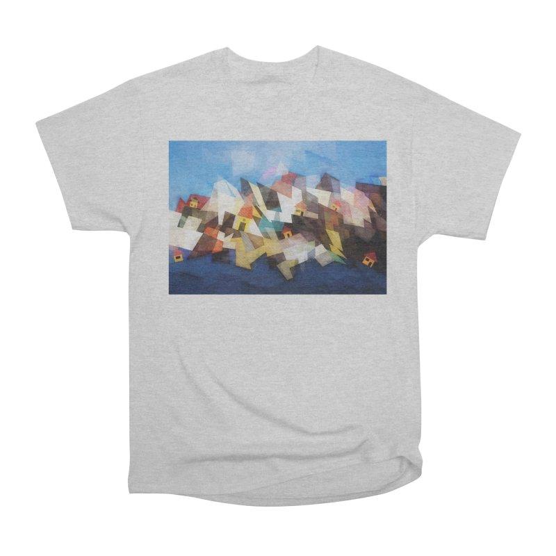 Little city Women's Heavyweight Unisex T-Shirt by fruityshapes's Shop