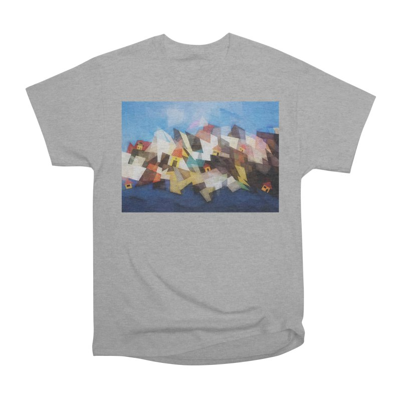 Little city Men's Heavyweight T-Shirt by fruityshapes's Shop