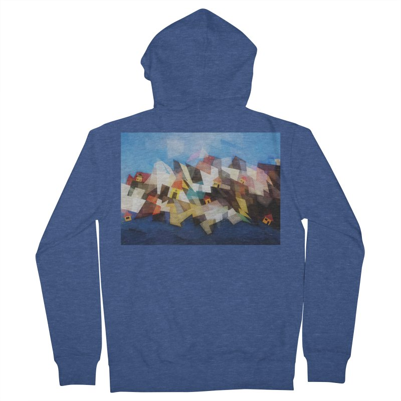 Little city Men's Zip-Up Hoody by fruityshapes's Shop