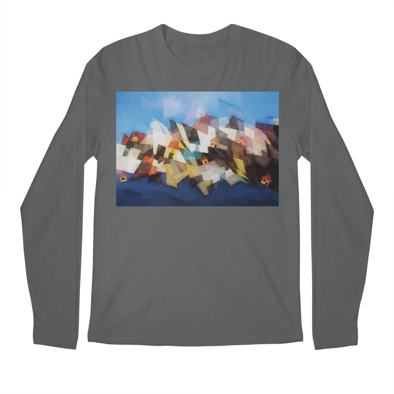 Little city Men's Longsleeve T-Shirt by fruityshapes's Shop