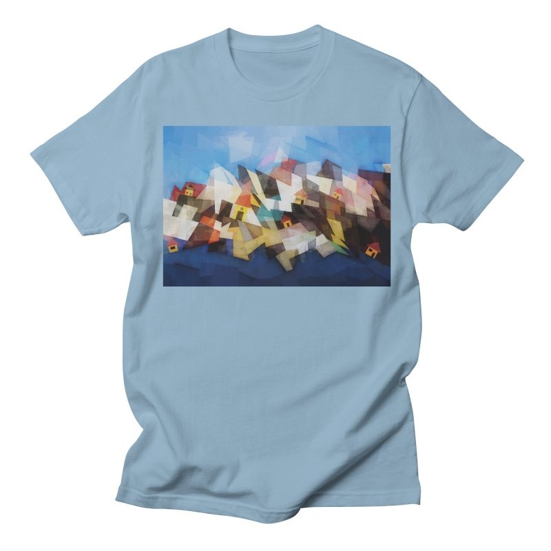 Little city Men's Regular T-Shirt by fruityshapes's Shop