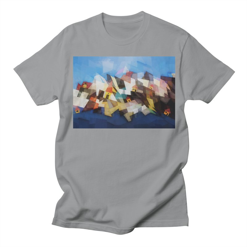 Little city Women's Unisex T-Shirt by fruityshapes's Shop