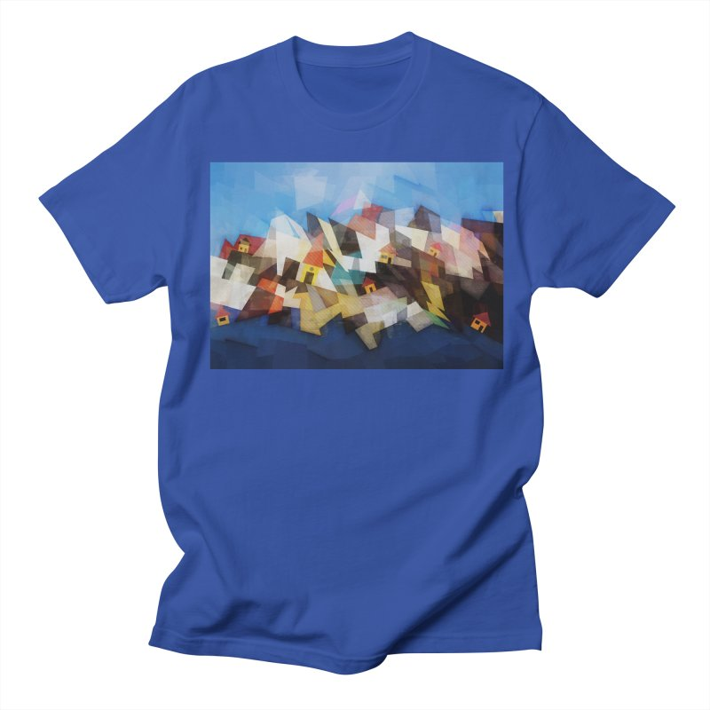 Little city Men's T-Shirt by fruityshapes's Shop