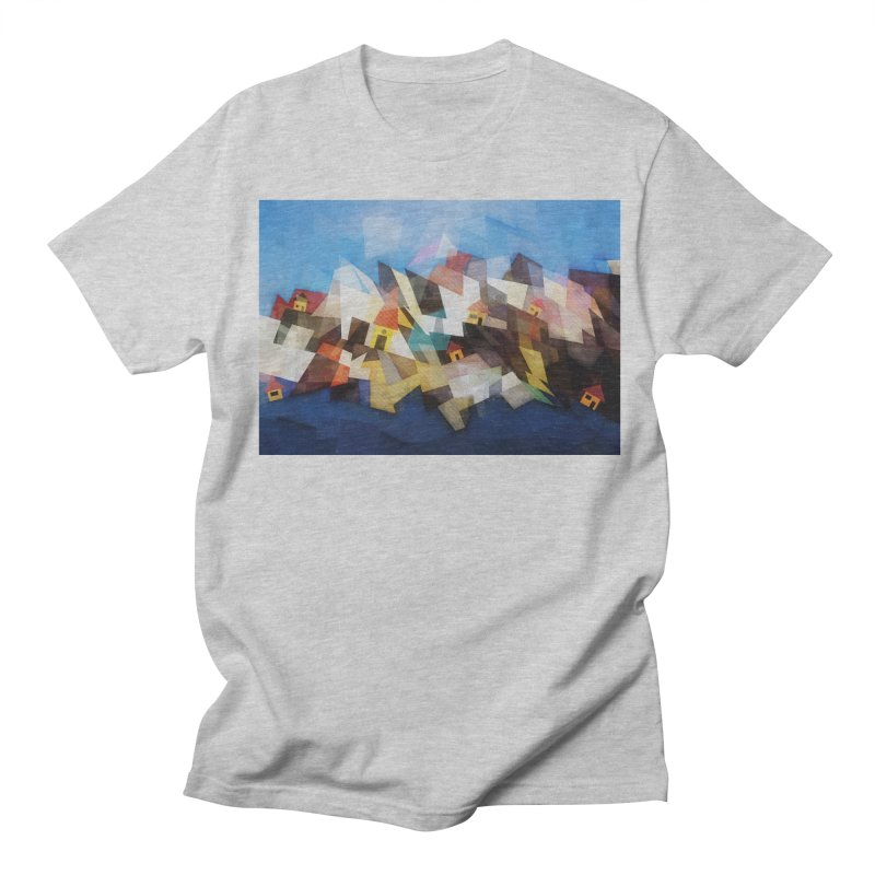 Little city Women's Regular Unisex T-Shirt by fruityshapes's Shop
