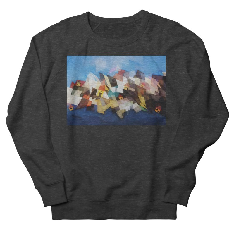 Little city Women's French Terry Sweatshirt by fruityshapes's Shop