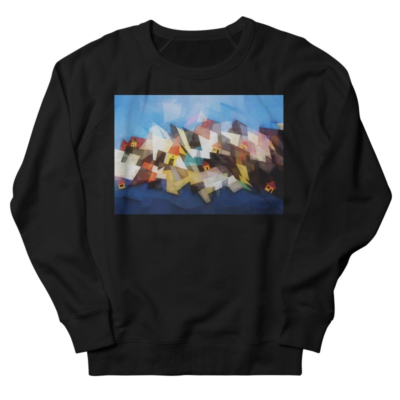 Little city Men's French Terry Sweatshirt by fruityshapes's Shop