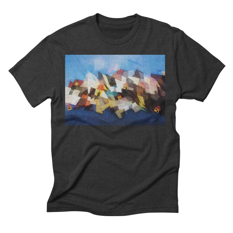 Little city Men's Triblend T-Shirt by fruityshapes's Shop
