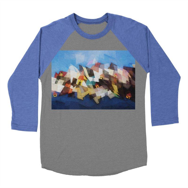 Little city Women's Baseball Triblend Longsleeve T-Shirt by fruityshapes's Shop