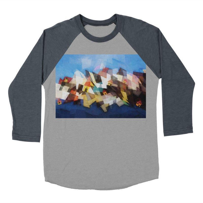 Little city Men's Baseball Triblend Longsleeve T-Shirt by fruityshapes's Shop
