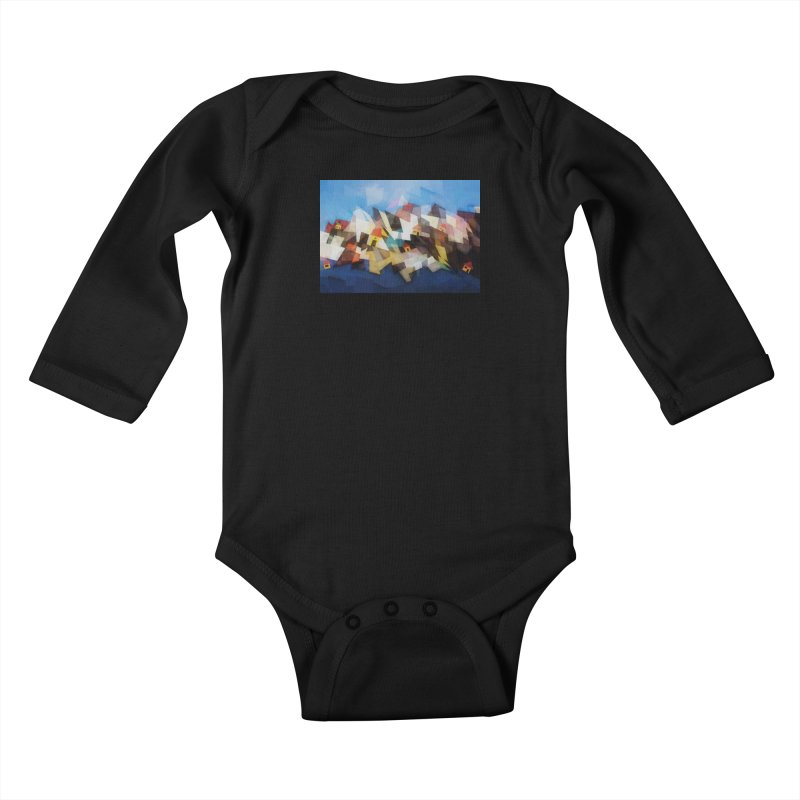 Little city Kids Baby Longsleeve Bodysuit by fruityshapes's Shop