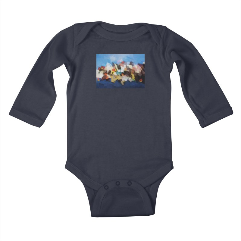 Little city Kids Baby Longsleeve Bodysuit by fruityshapes's Shop