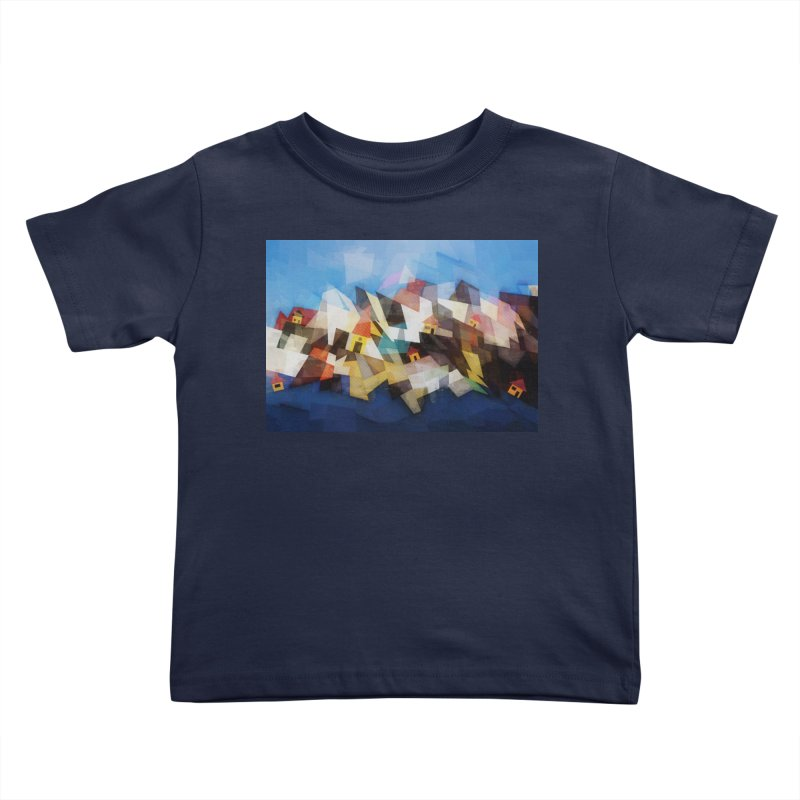 Little city Kids Toddler T-Shirt by fruityshapes's Shop