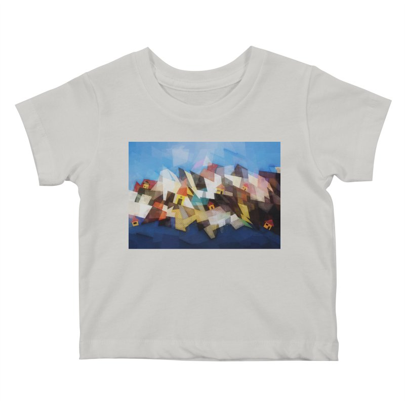 Little city Kids Baby T-Shirt by fruityshapes's Shop