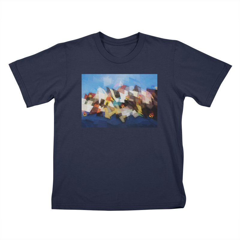 Little city Kids T-Shirt by fruityshapes's Shop