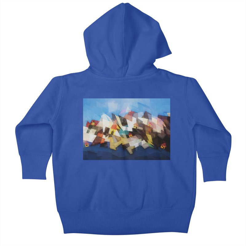 Little city Kids Baby Zip-Up Hoody by fruityshapes's Shop