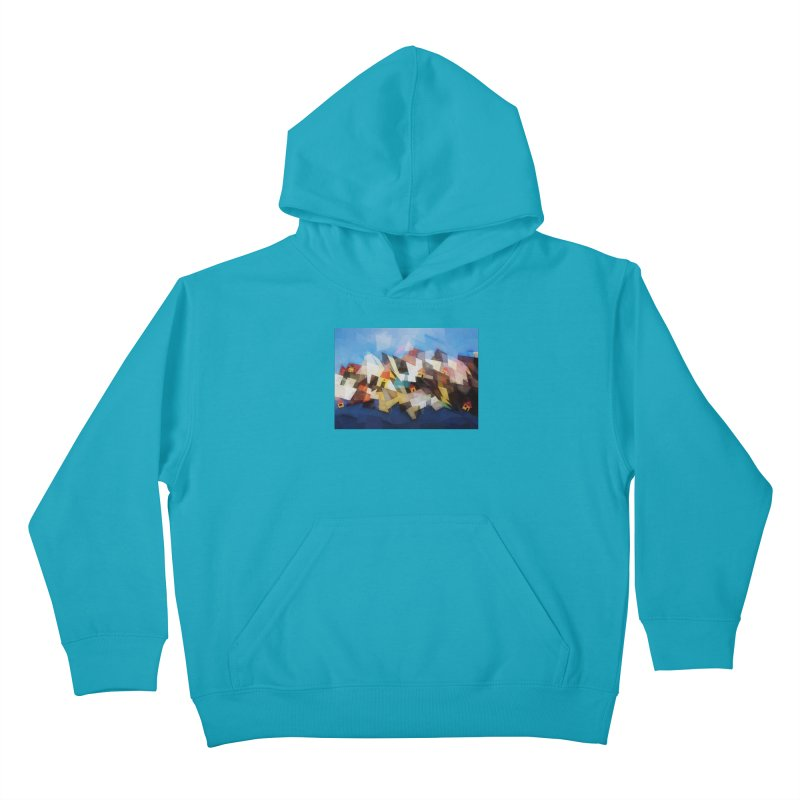 Little city Kids Pullover Hoody by fruityshapes's Shop
