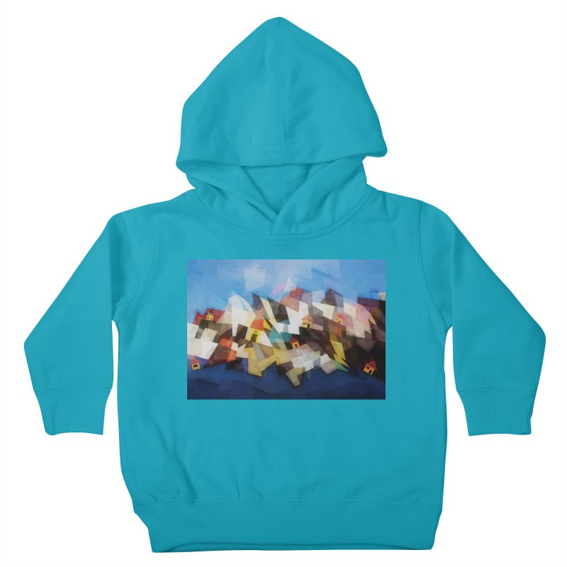 Little city Kids Toddler Pullover Hoody by fruityshapes's Shop