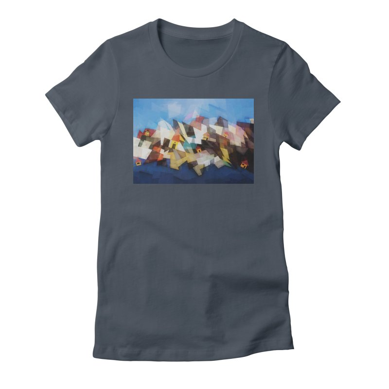Little city Women's T-Shirt by fruityshapes's Shop