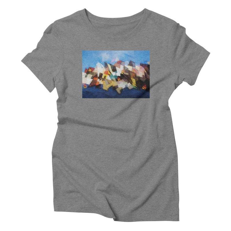 Little city Women's Triblend T-Shirt by fruityshapes's Shop