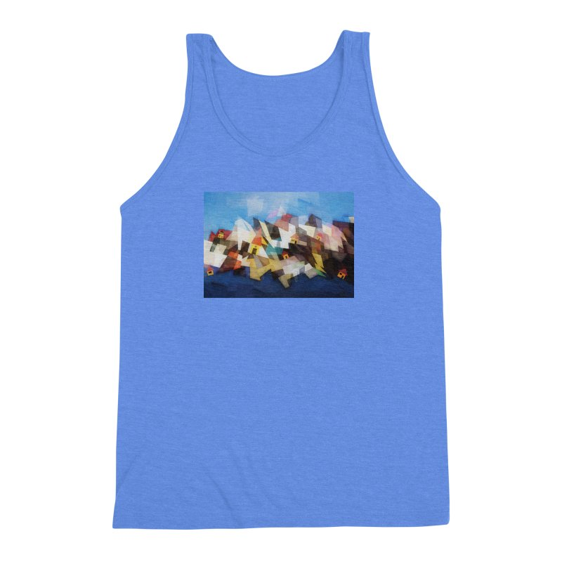 Little city Men's Triblend Tank by fruityshapes's Shop