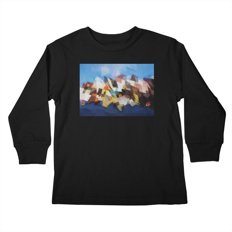 Little city Kids Longsleeve T-Shirt by fruityshapes's Shop