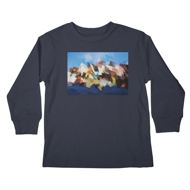 Little city Kids Longsleeve T-Shirt by fruityshapes's Shop