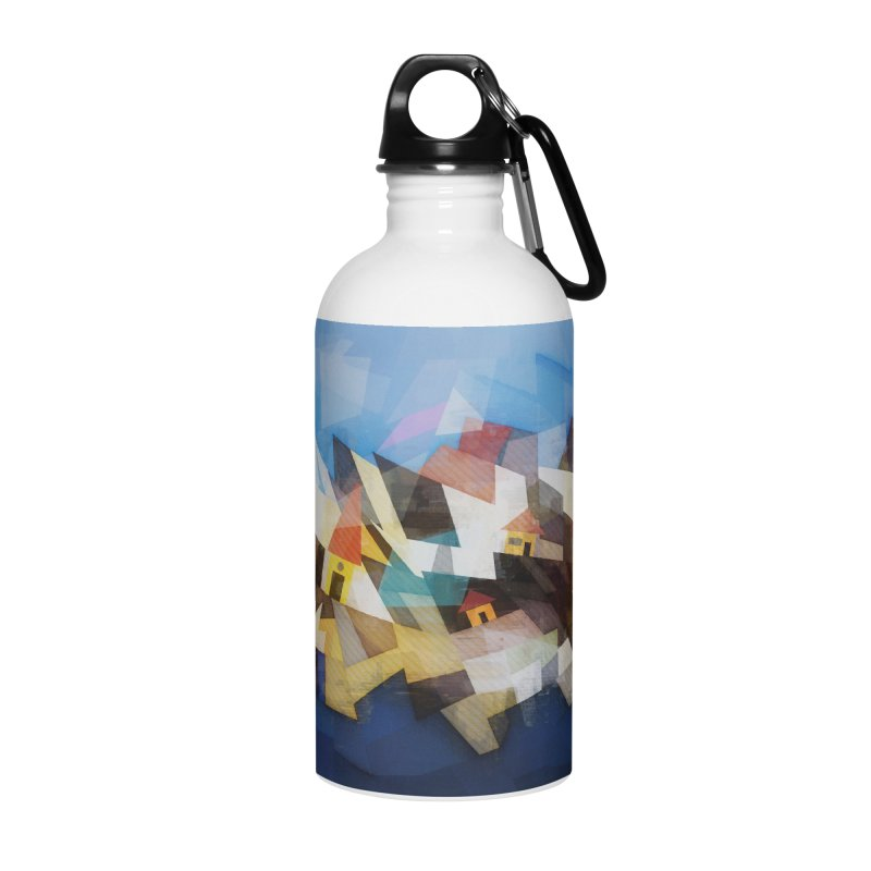 Little city Accessories Water Bottle by fruityshapes's Shop
