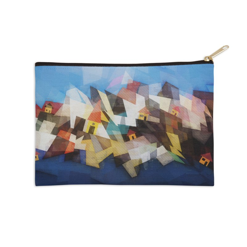 Little city Accessories Zip Pouch by fruityshapes's Shop