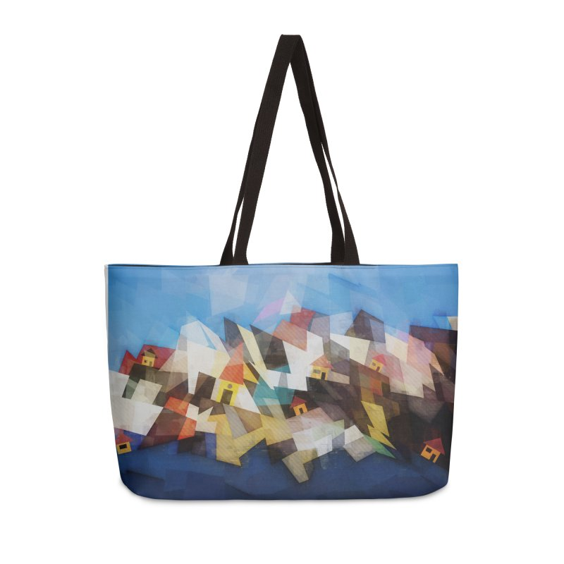 Little city Accessories Weekender Bag Bag by fruityshapes's Shop